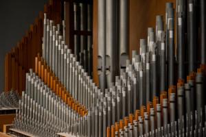 Crouse College Interior Pipe Organ Pipes Auditorium